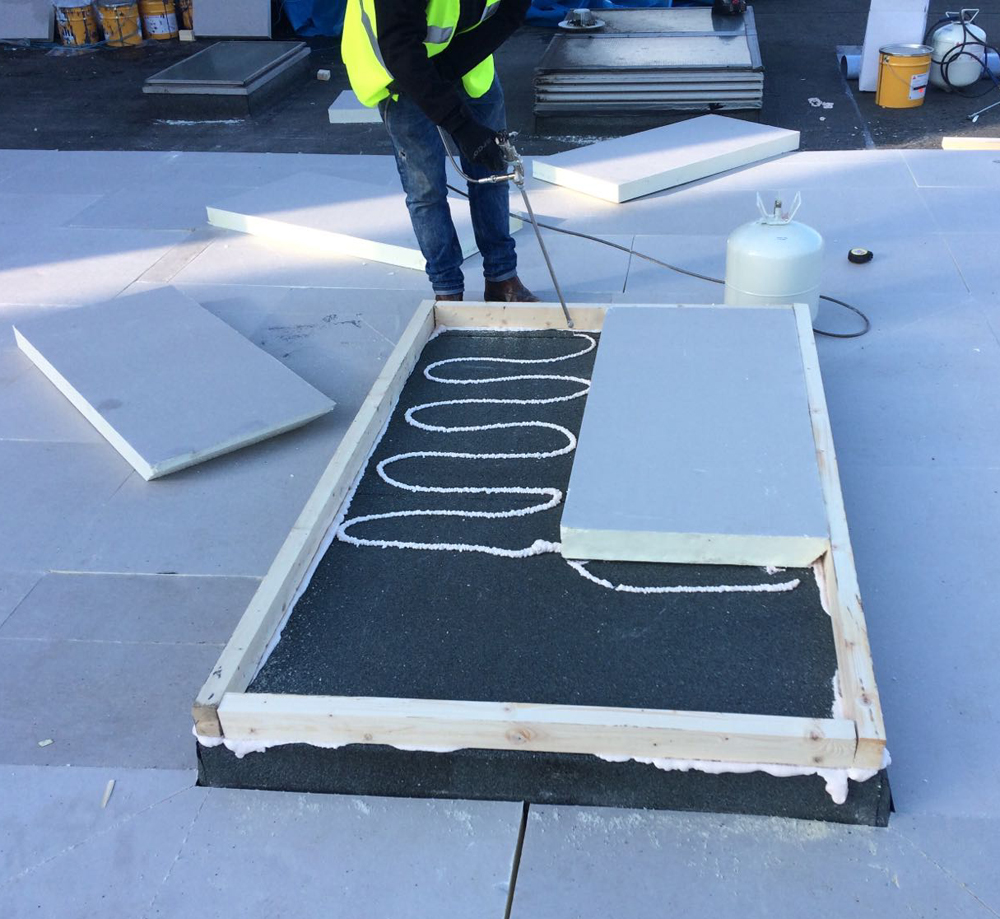 Sika Roofing Cuts Installation Times With Sika C 250 Spray