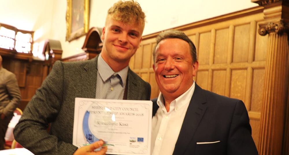 Martin Brooks Apprentice Wins Construction Award
