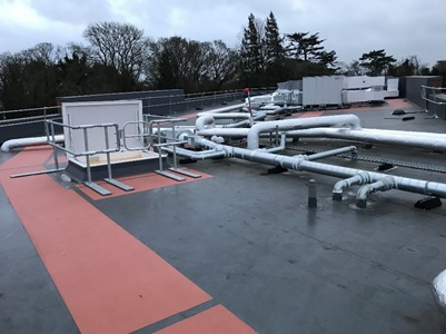 Sika's Waterproof Roof System Provides Long-Term Protection