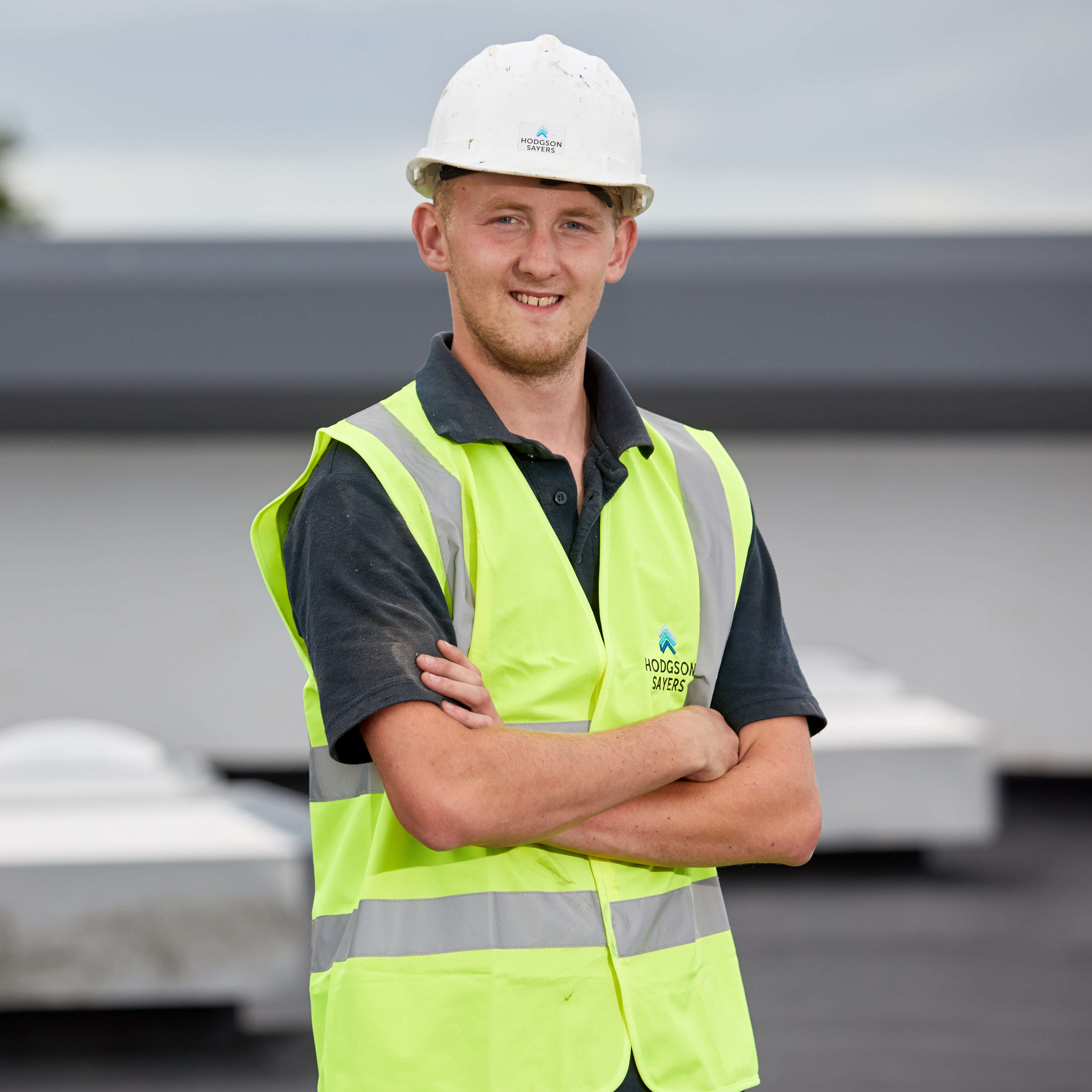Kieran Forster Winner BMI Icopal Apprentice of the Year Flat Roofing