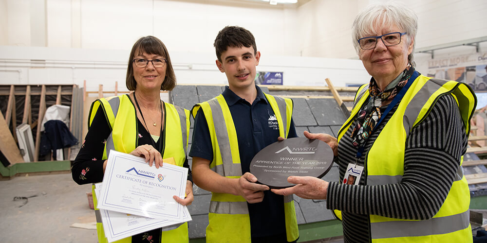 North West Roof Training Group Celebrates With Welsh Slate