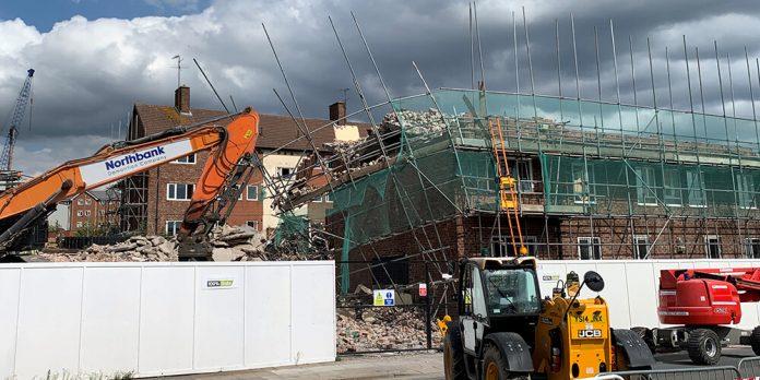 Demolition Works Halt Following Scaffolding Collapse