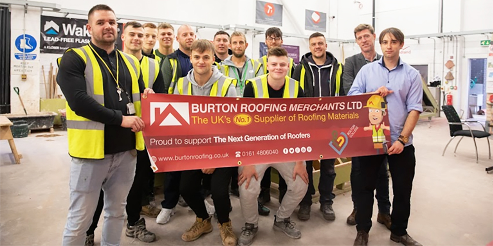 National Roofing Merchant Gives College Apprentices Credit