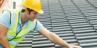 roofer on roof