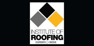 Institute of roofing logo