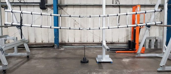 Ladder tested for defects