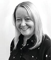 headshot of author