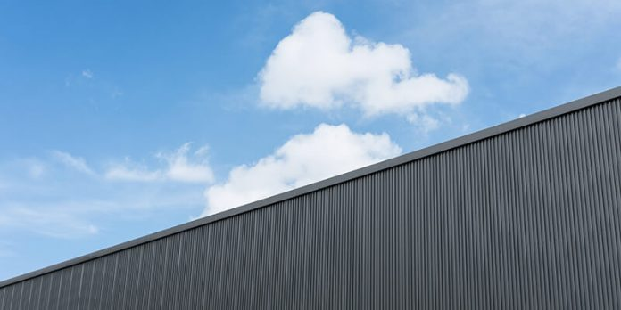 warehouse roof fall