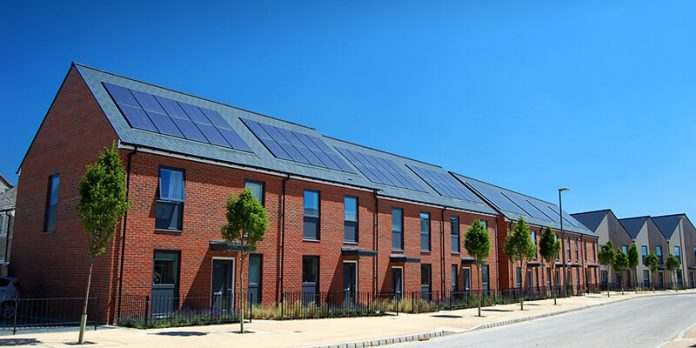 Solar PV panels on roofs that can be for re-use