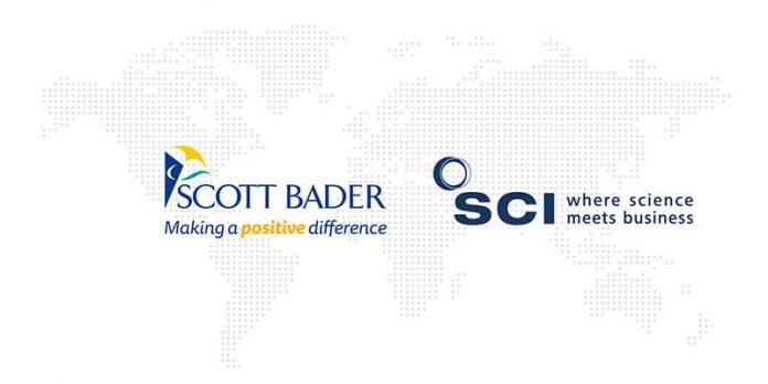 Scott Bader and SCI logos