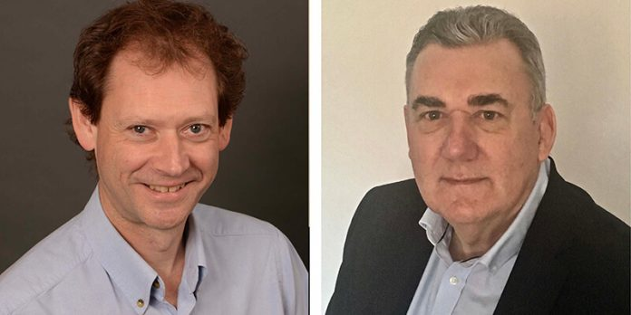 Headshot of Tom Olgivie and Jim Lowther - NARM Chairman