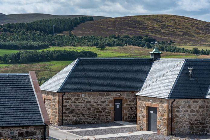 The Heavy 3 slate roofs of the Ardross Destilery