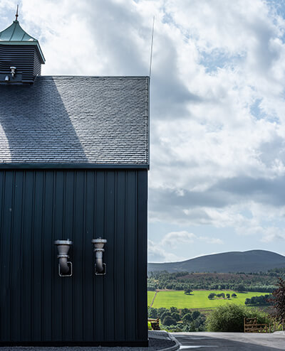 A Heavy 3 slate roof at the Ardross Distillery
