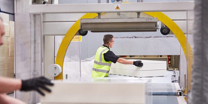 Image of product manufacturing - Sustainability Roof Insulation