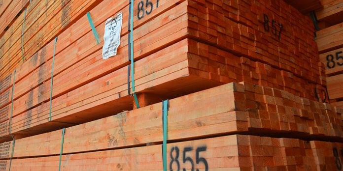 Construction Product Availability - Battens stacked