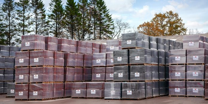 Russell Roof Tiles stacked - Ev Trial