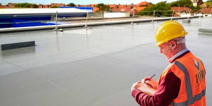 Contractor on ELASTASEAL - Z roof free of leaks
