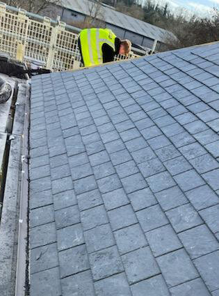 Cupa Pizarras roofing