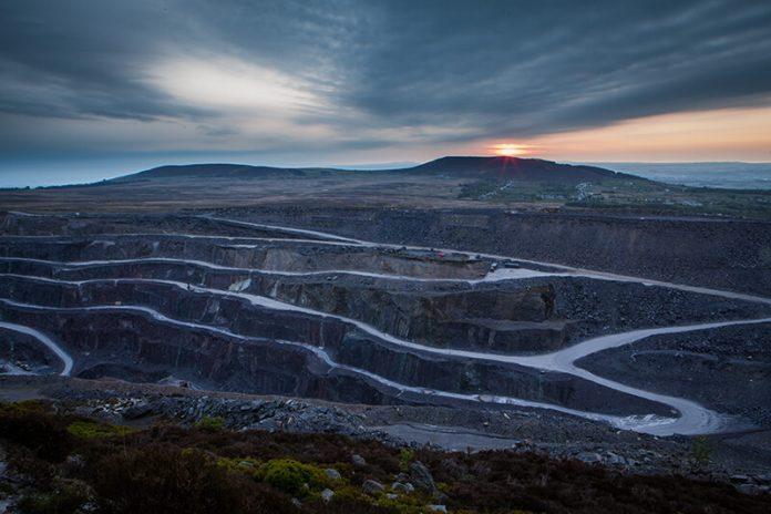 Penrhyn Quarry in Snowdonia World Heritage Slate