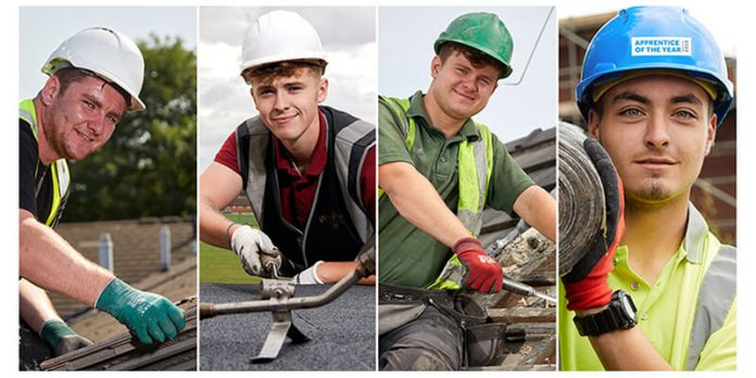 Previous winners of the BMI Apprentice of the Year competition