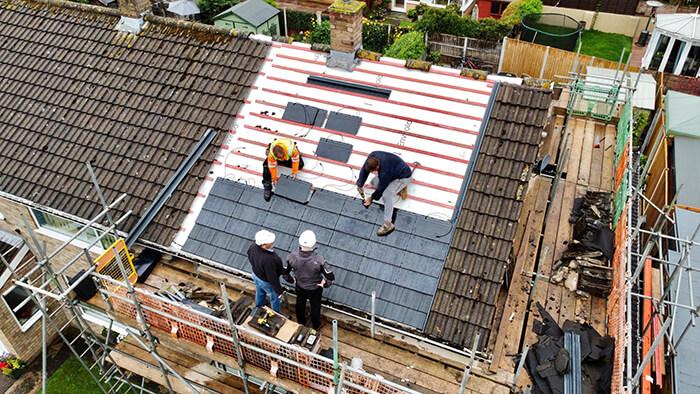 Envirotile Integrated Solar PV