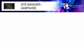Site manager TSL