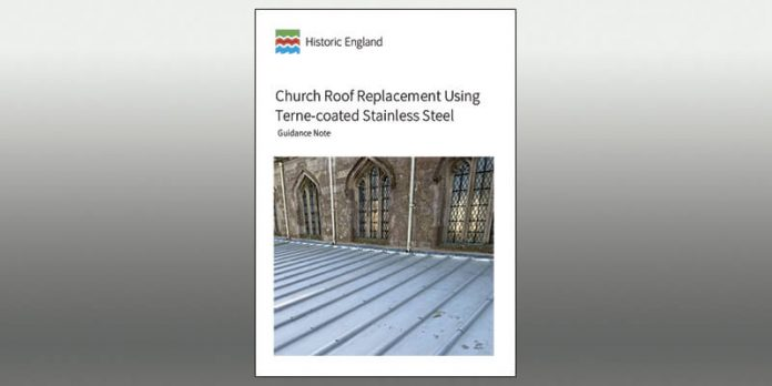Historic England Terne-coated Stainless Steel