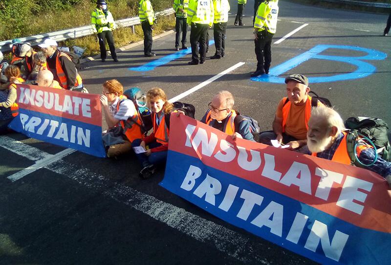 Insulate Britain protest 2
