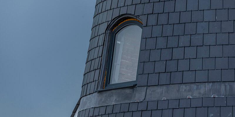 R17 slate on tower