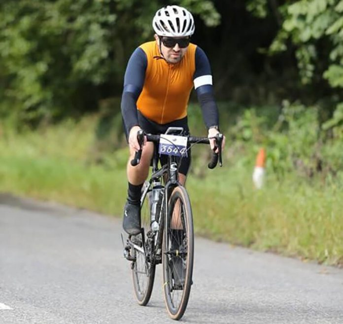 Alan Young - cycling challenge